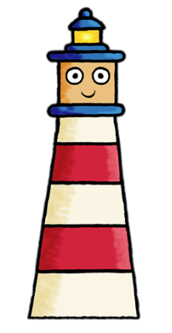 Toot Character Lenny The Lighthouse Transparent Png Stickpng