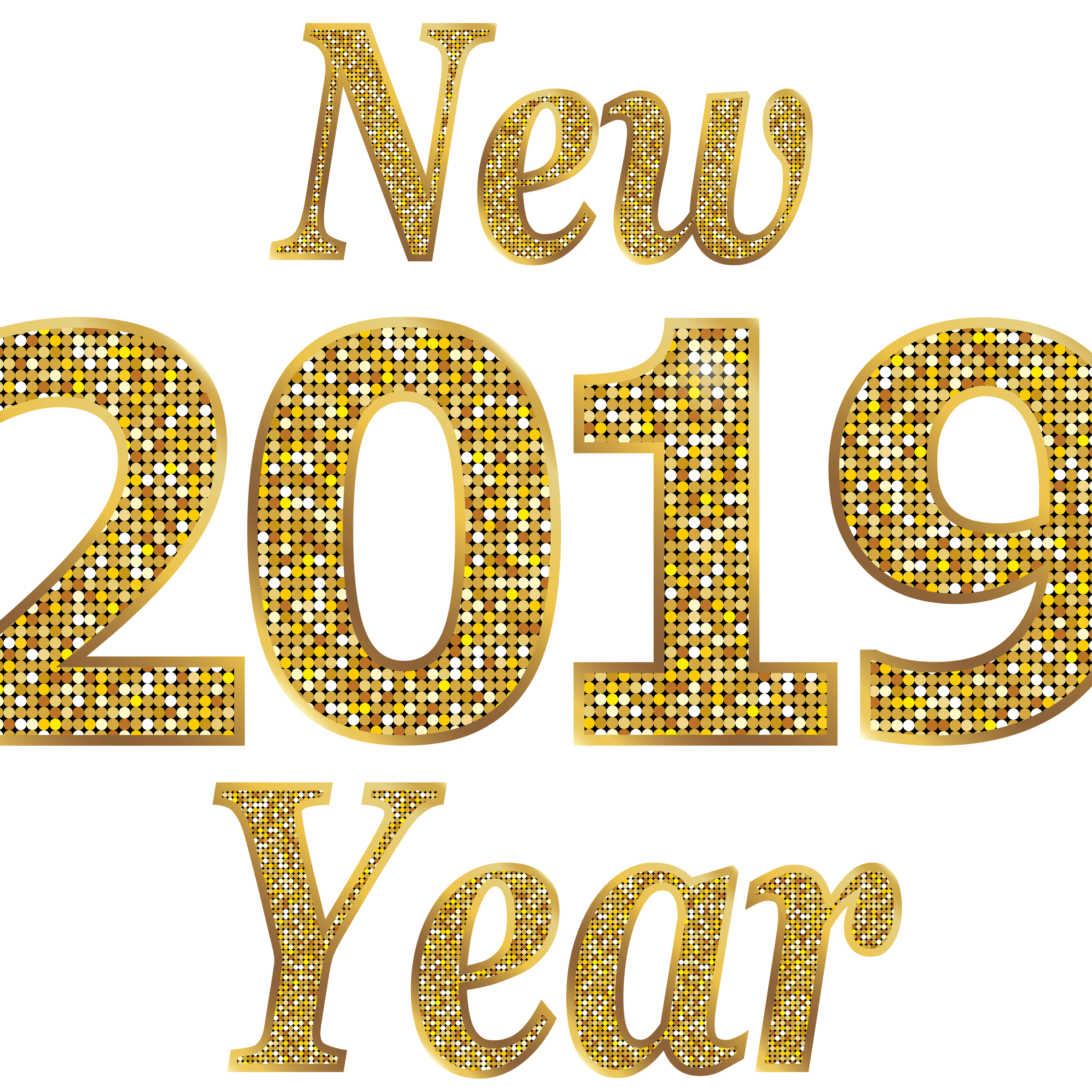 Happy New Year Text Png 70