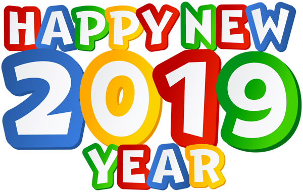 Happy New Year Transparent Background 100