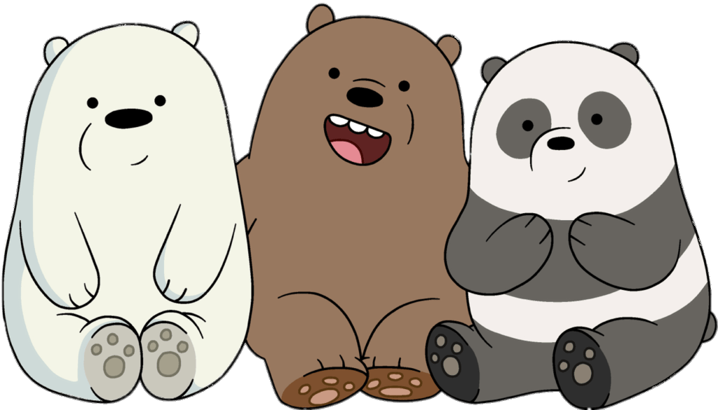 We Bare Bears Friends Transparent Png Stickpng