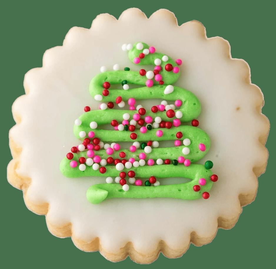Christmas Tree Shortbread Transparent Png Stickpng