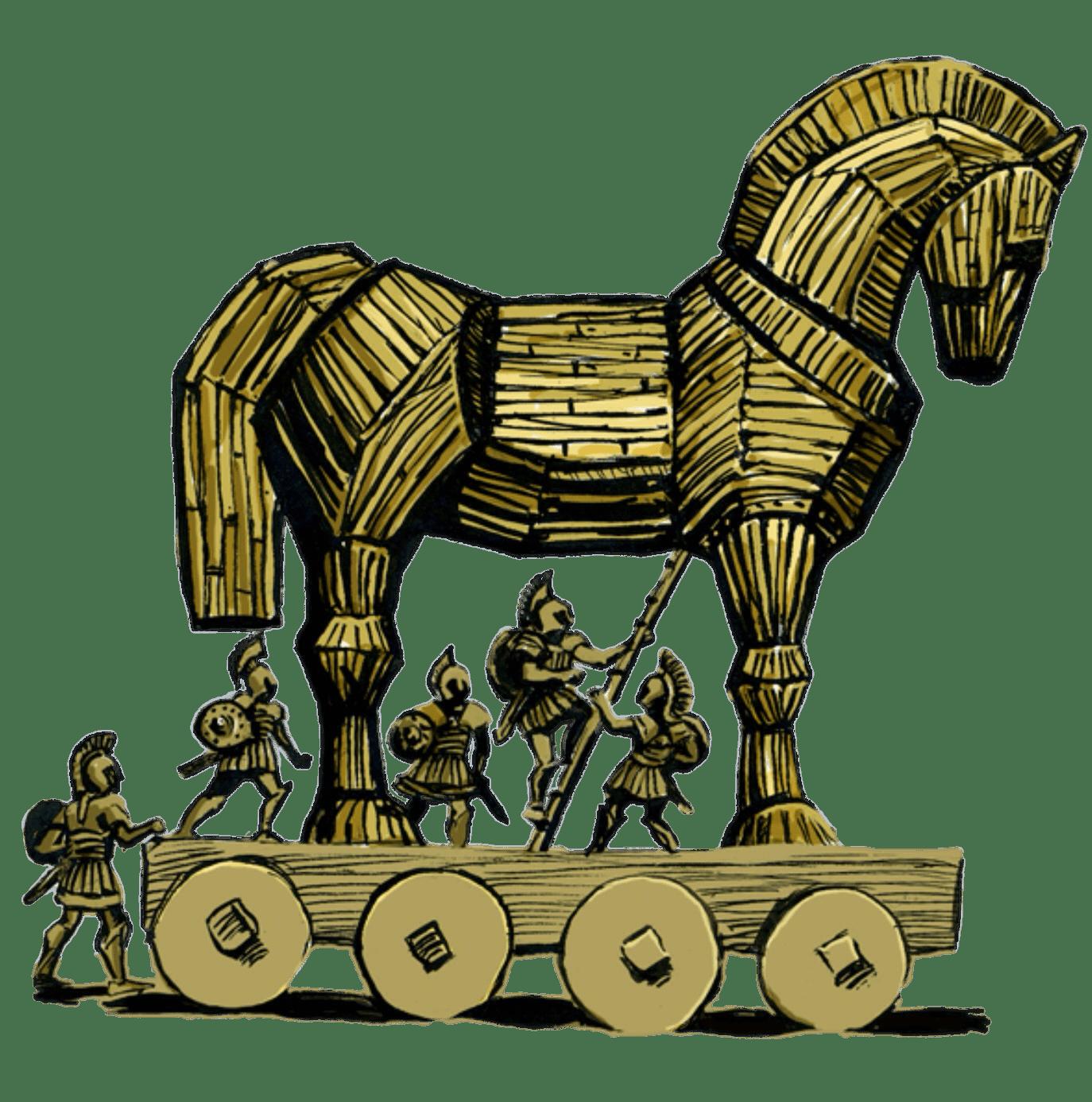Trojan Horse Illustration Transparent Png Stickpng