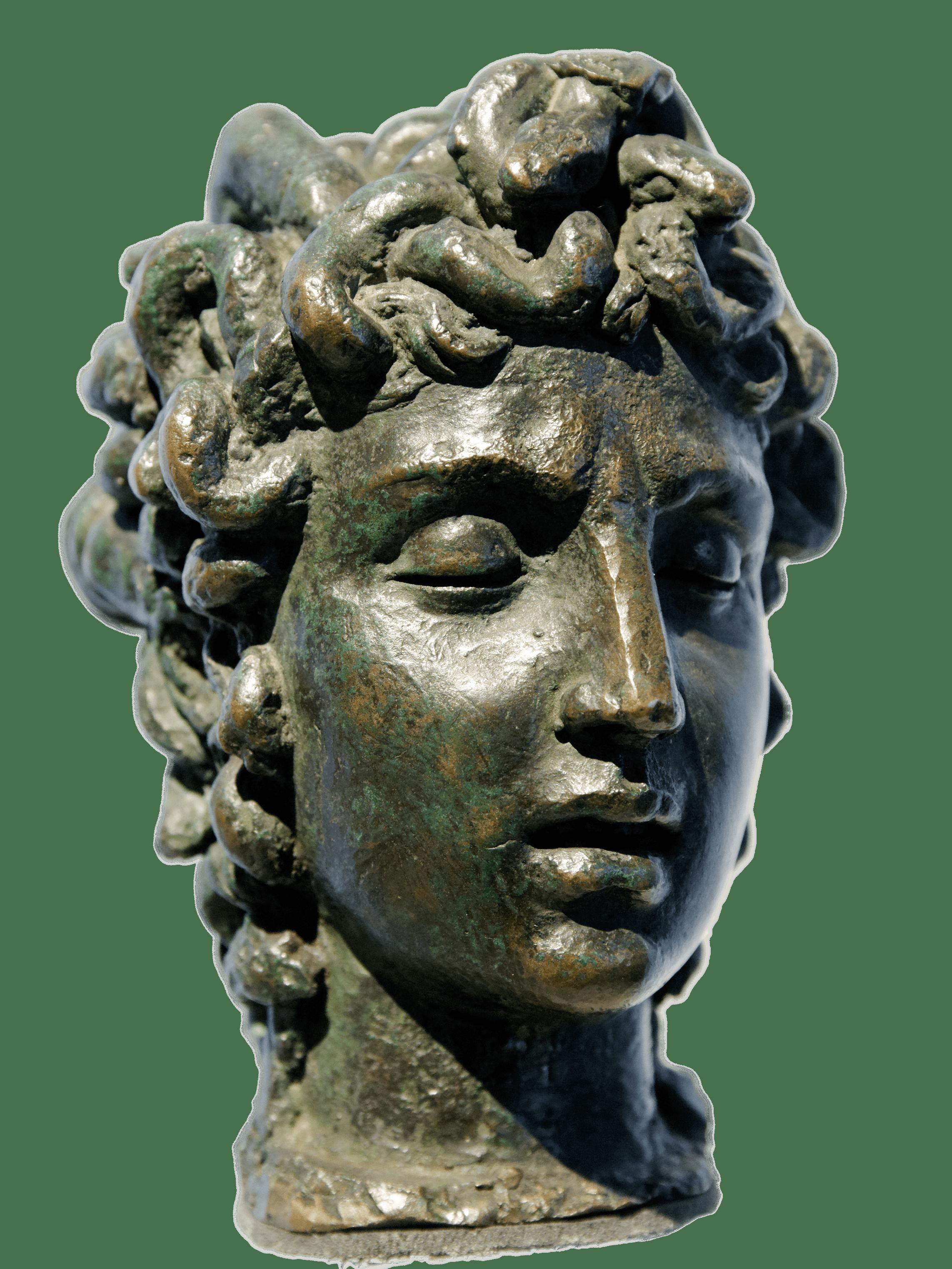 Statue Head Of Medusa Transparent Png Stickpng