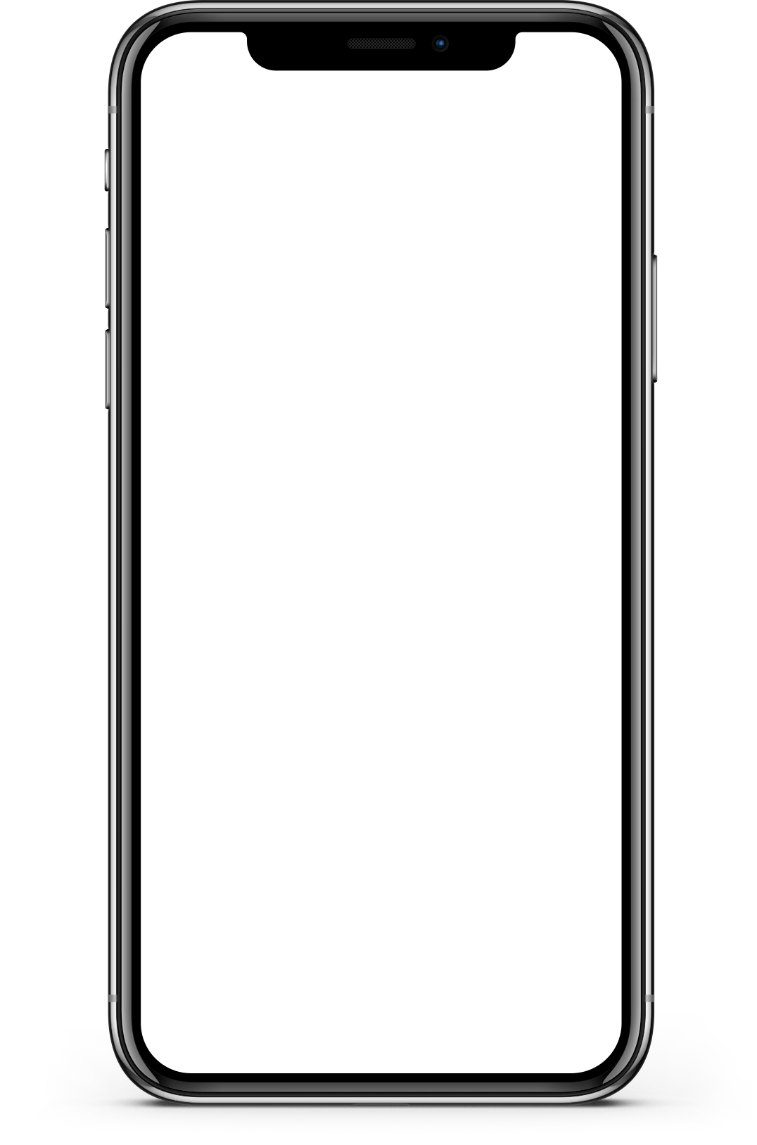 Iphone X Screen Mockup transparent PNG , StickPNG