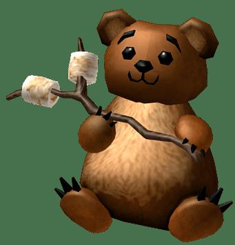 Roblox Bobo The Picnic Bear Transparent Png Stickpng