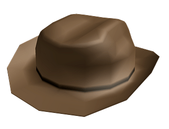 Roblox Brown Cowboy Hat Transparent Png Stickpng