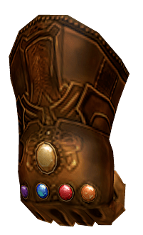 Roblox Infinity Gauntlet Transparent Png Stickpng
