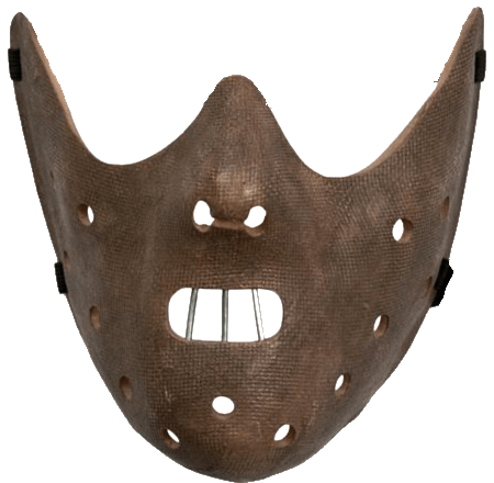 Hannibal Lecter Face Mask Transparent Png Stickpng This original creation is modeled after the film's images (the silence of the lambs). stickpng
