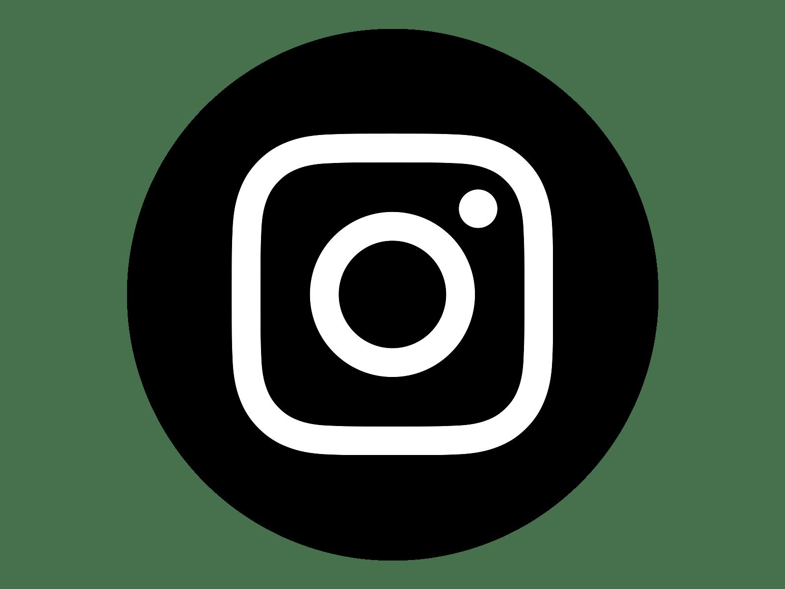 Circle Black Instagram Logo transparent PNG   StickPNG