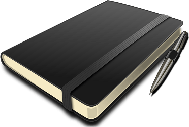 black notebook and pen clipart transparent png stickpng black notebook and pen clipart transparent png stickpng