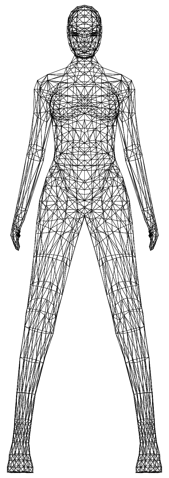 Modern Drawing Of Female Body Transparent Png Stickpng