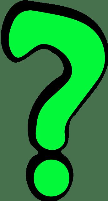 Point D Interrogation Vert Png Transparents Stickpng