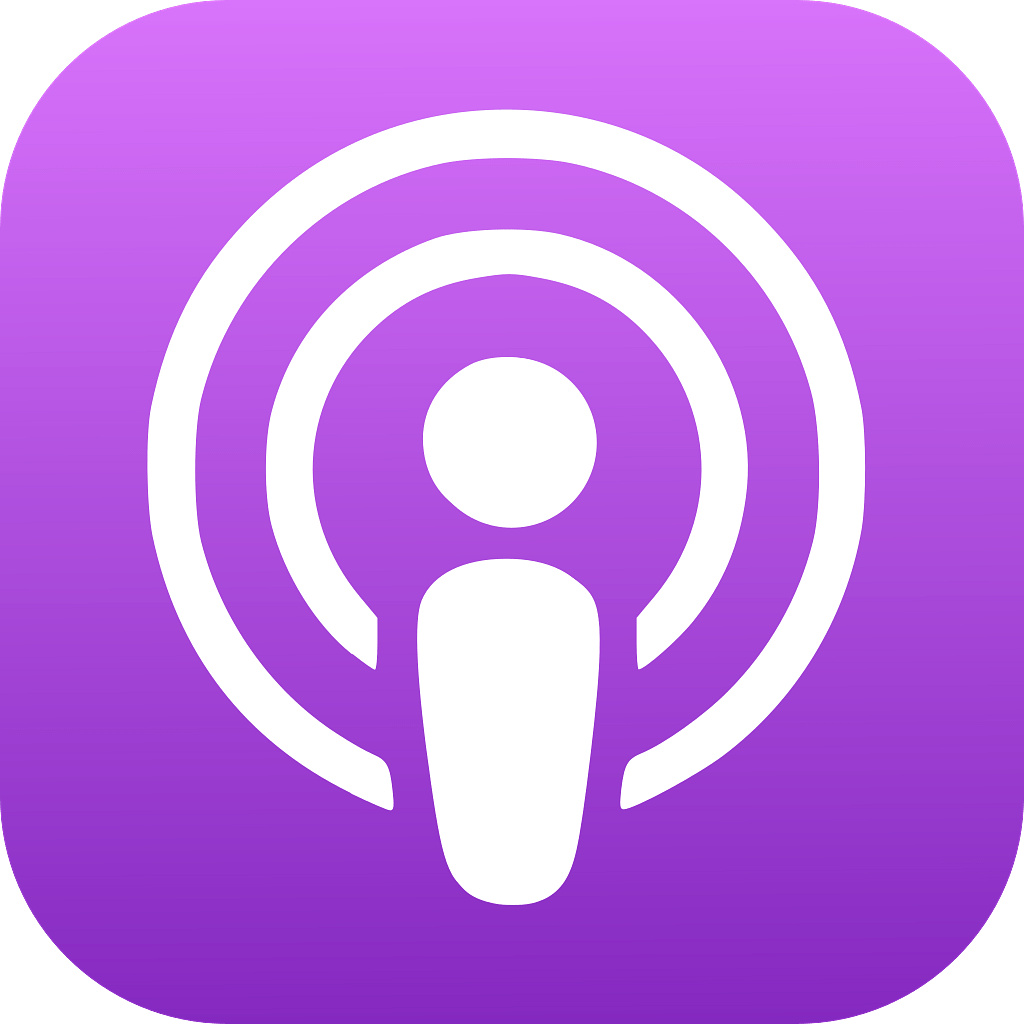 Apple Podcasts Logo Icon transparent PNG - StickPNG