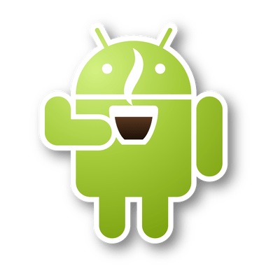 Android Robot Coffee