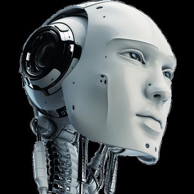 Robot Head transparent PNG - StickPNG