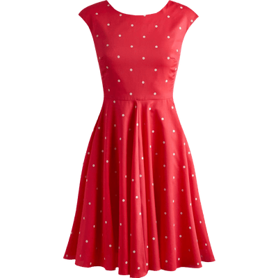 Dress Red Clipart transparent PNG
