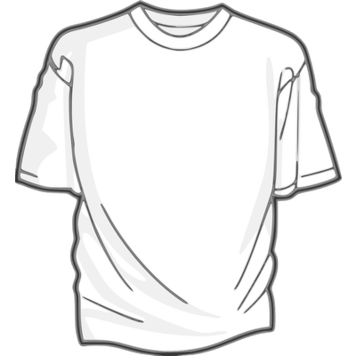 Tshirt White Clipart Transparent