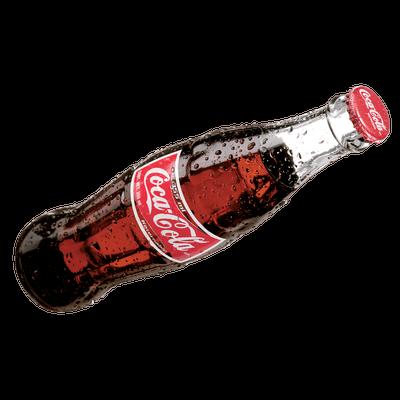 coca cola side bottle transparent png stickpng