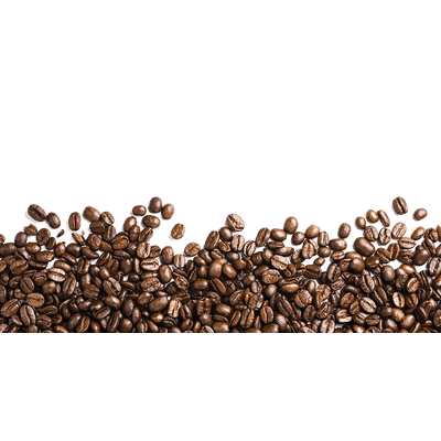 Coffee Beans Footer transparent PNG - StickPNG