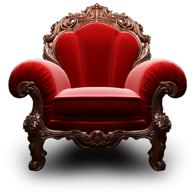 Armchair Red Royal