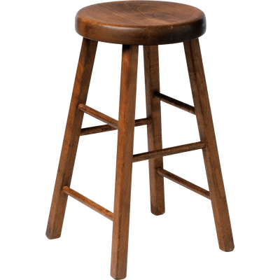 Wooden Stool Chair Transparent Png Stickpng