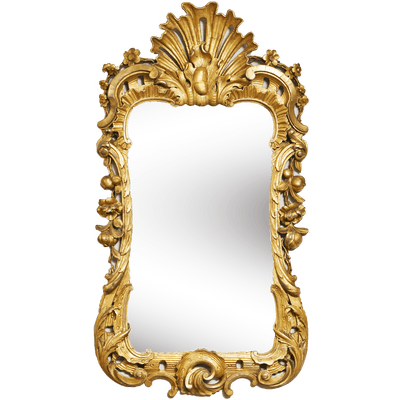 Mirror Gold Frame Transparent Png Stickpng