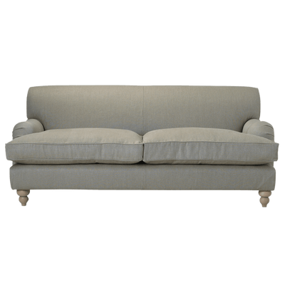 Grey Fabric Sofa Transparent PNG