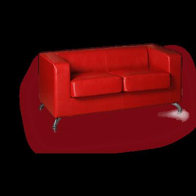 Black Leather Sofa Transparent PNG StickPNG