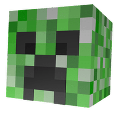 Creeper Head Minecraft transparent PNG - StickPNG