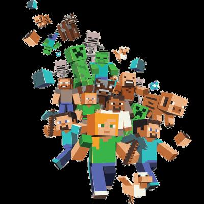 Logo Minecraft transparent PNG - StickPNG