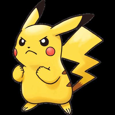 Angry pikachu pokemon transparent png stickpng - Image pikachu ...
