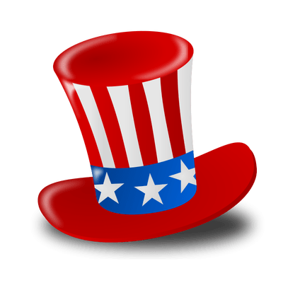 Happy Fourth Of July Hat