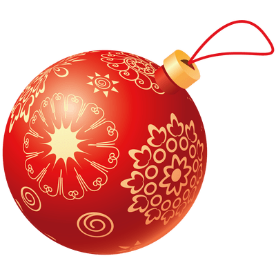 Christmas red ball transparent png stickpng for Weihnachtskugeln transparent