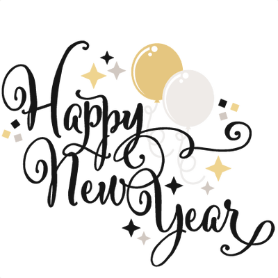 Happy New Year Glitter transparent PNG - StickPNG