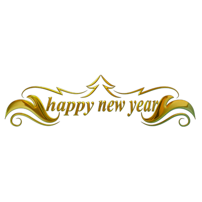 Happy New Year Balloons transparent PNG - StickPNG