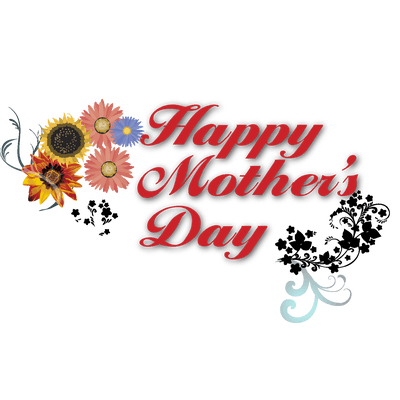 Happy Mothers Day Banner Text