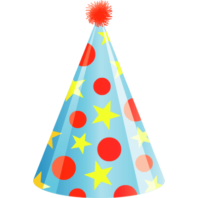 Birthday Hat Party Transparent PNG