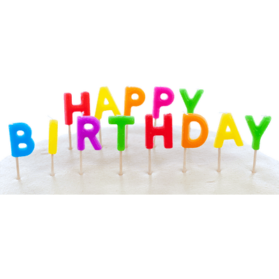 Birthday Girl Candles transparent PNG - StickPNG