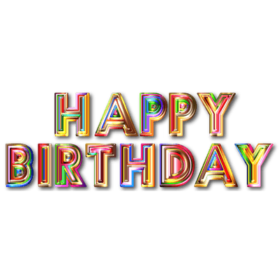 Happy Birthday Neon Sign Transparent Png Stickpng