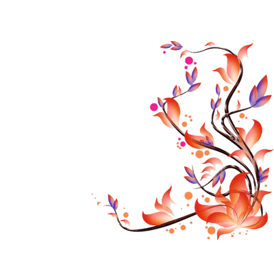Flowers Frame Corner transparent PNG - StickPNG