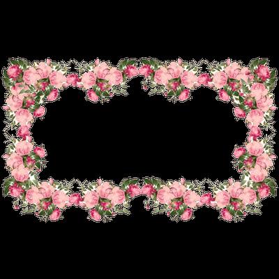 Flowers Corner Frame transparent PNG - StickPNG