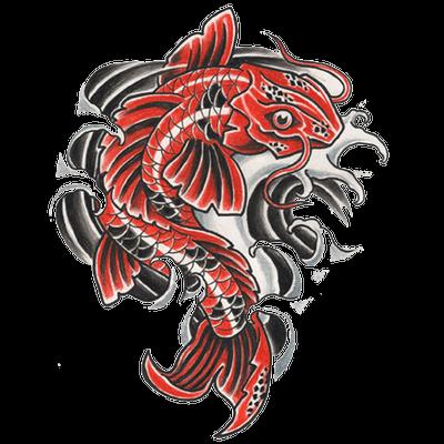 Fish Japanese Tattoo transparent PNG - StickPNG