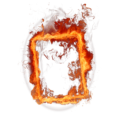 Line Of Flames Fire Transparent Png Stickpng