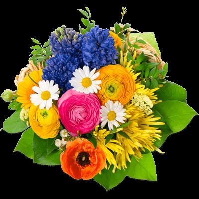 Flowers Bouquet Round
