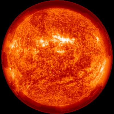Red Burning Sun transparent PNG - StickPNG