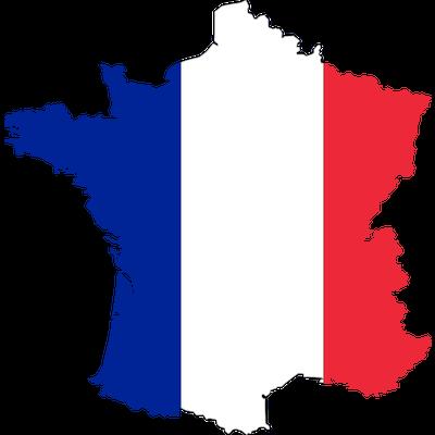 Bandera Francia País PNG transparente - StickPNG