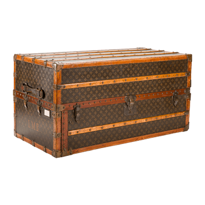 Vintage Luggage Vuitton Trunk