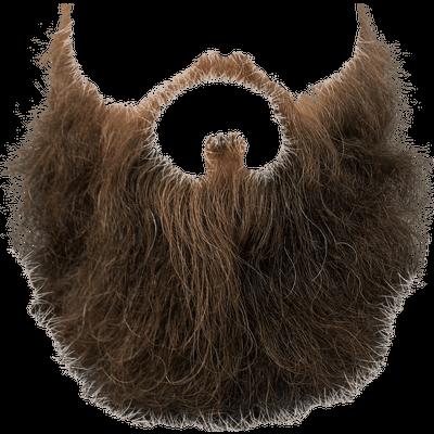 Grey Black Beard transparent PNG - StickPNG