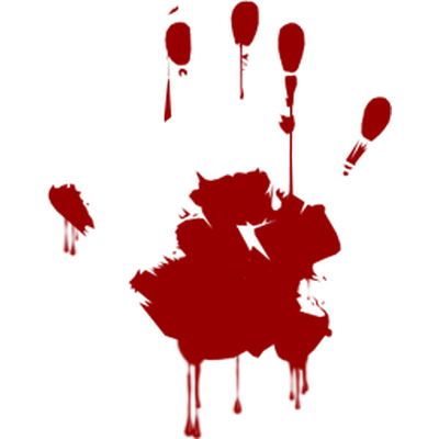 Blood Hand transparent PNG - StickPNG