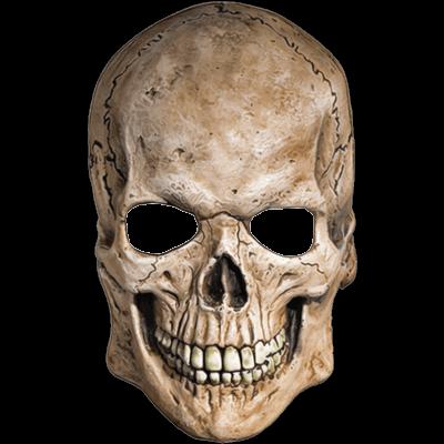 White mask skull